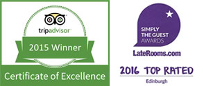 Aaron Lodge Trip Advisor Awards