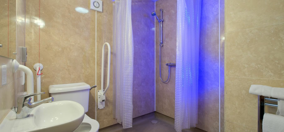 Disabled Walk-in Shower Room Edinburgh